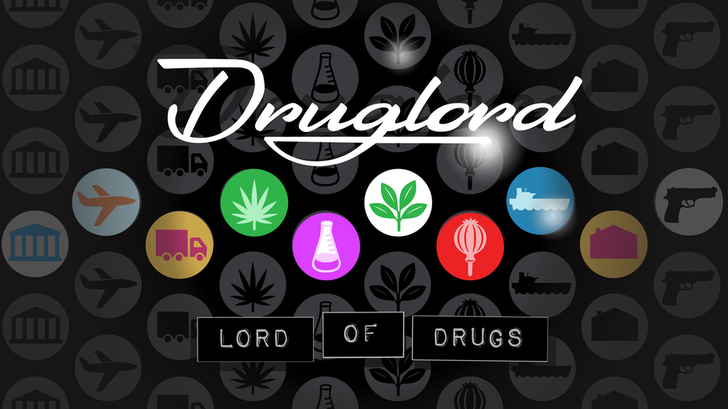 Druglord: Lord of Drugs Board Game, January 2019 Print project video thumbnail