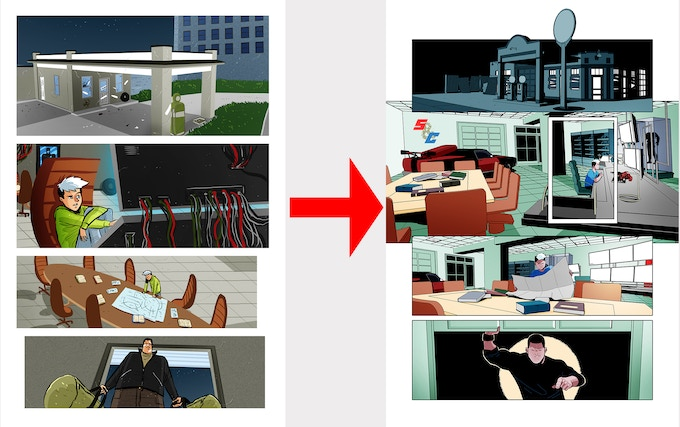An example of how we're remastering pages.