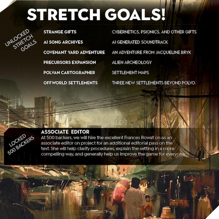 The Final Stretch Goal