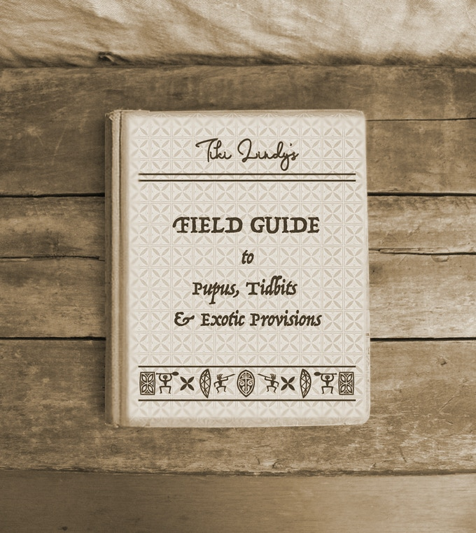 Cover of Tiki Lindy's Field Guide to PuPus, Tidbits & Exotic Provisions