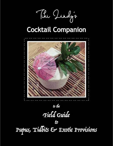 Field Guide Cocktail Companion Booklet Cover