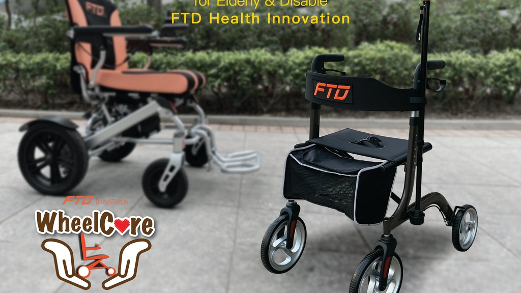 WheelCare Walking Aids: A health care solution for disable