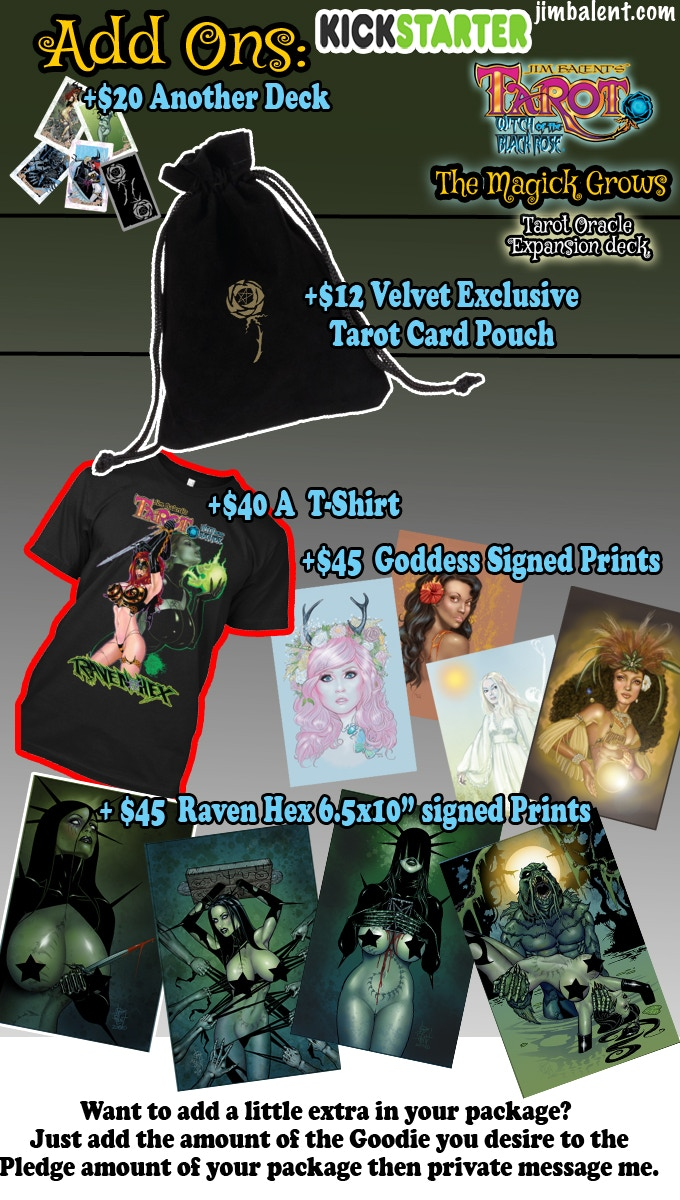 Add Some more Magick to your Pledge Package!