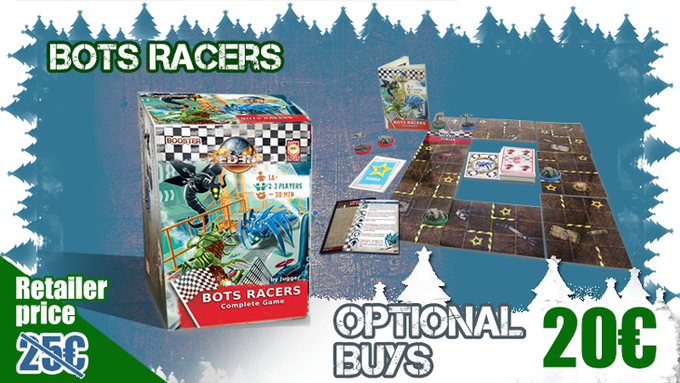 Bots Racers is a stand alone game set in the Eden universe.