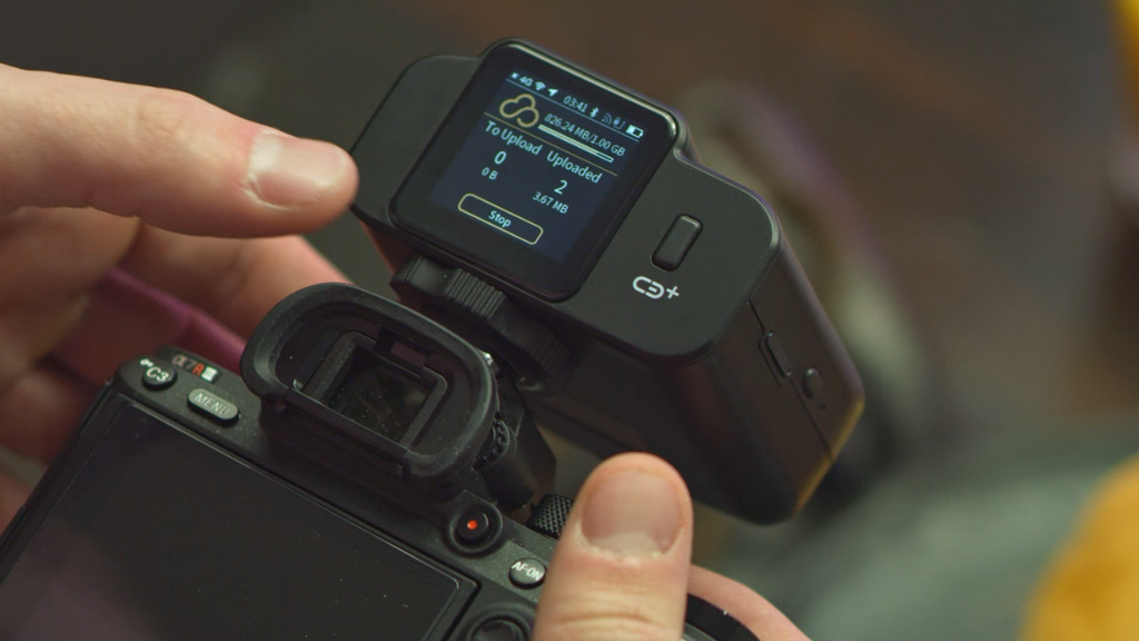 CamBuddy Plus: your camera's wireless gateway to the cloud