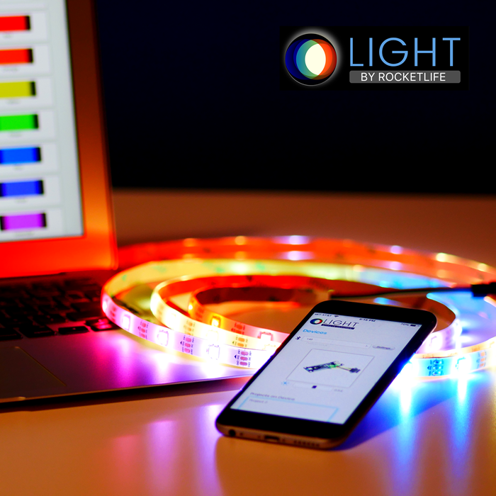 Light by RocketLife lets you add custom LED lighting to almost anything. Click below to get our newsletter with project updates. Lots of fun stuff to come!