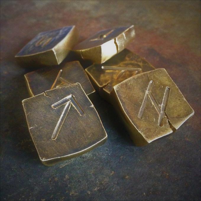 The Dragon's Hoard (Brass Runes)