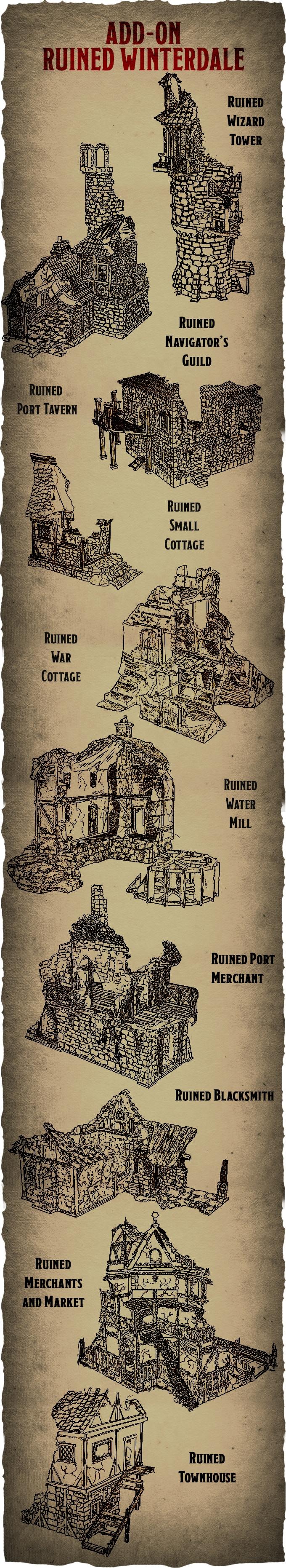 Dwarves, Elves and Demons by Printable Scenery — Kickstarter