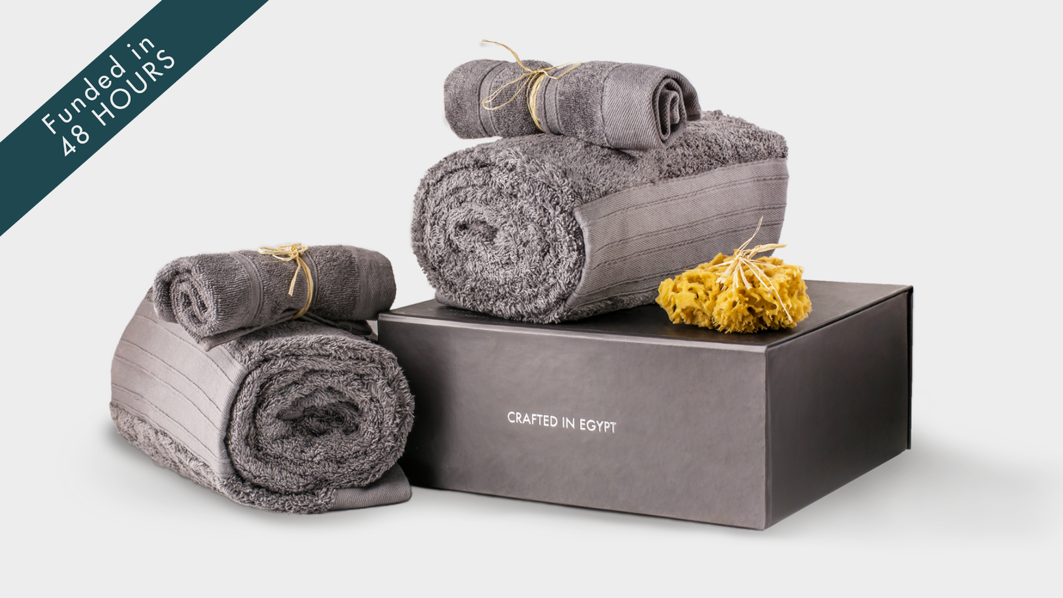 Luxury bath essentials at accessible prices. Ethically made in the Nile Delta.