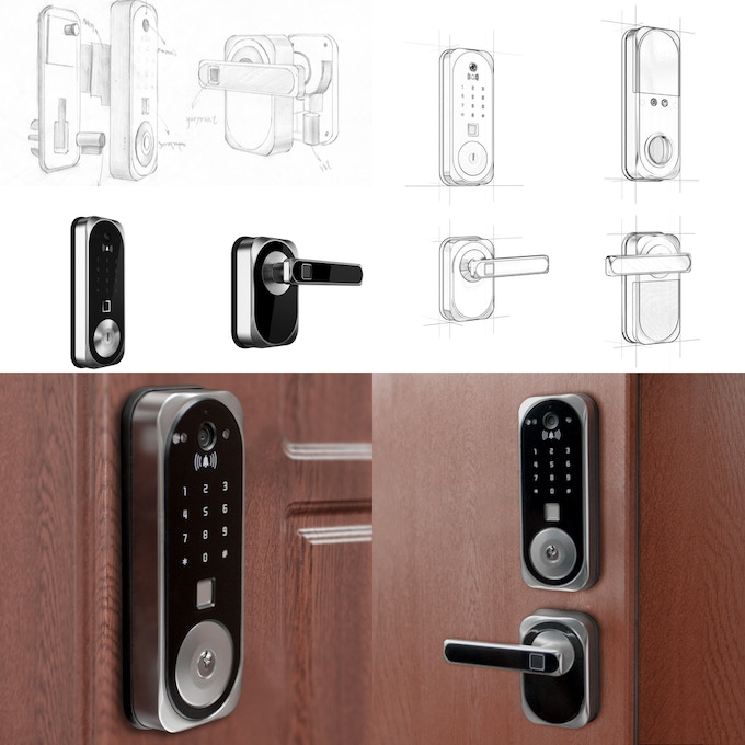 US:E - Camera Equipped Smart Lock with Facial Recognition by