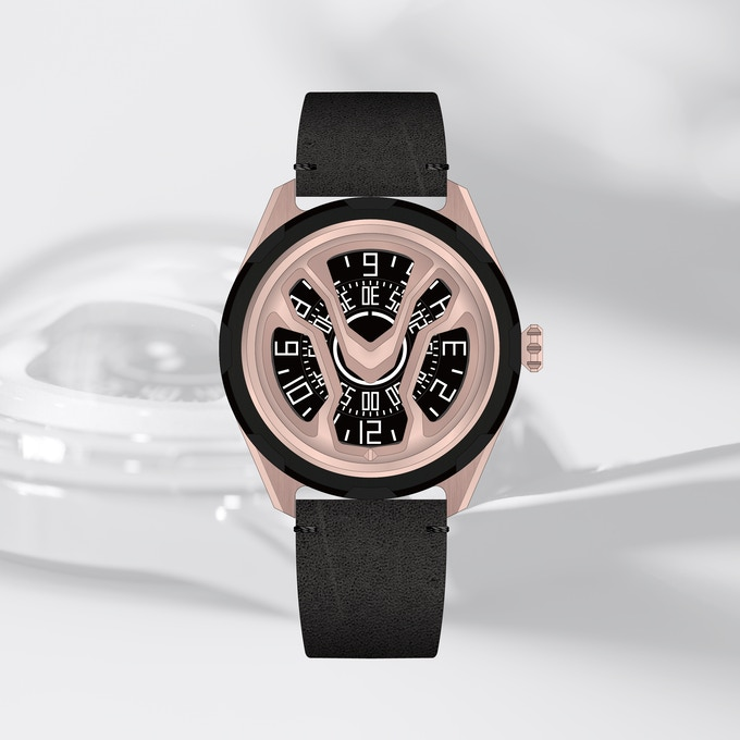AN-S01 Black & Rose Gold