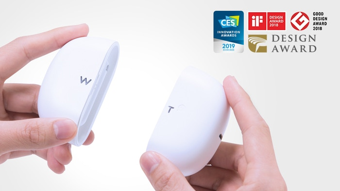 World's first Ear-to-Ear wearable translator for face-to-face bilingual conversations! Translate languages in near real-time.