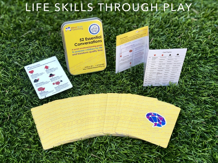 UPDATE: we won the 2018 Parents' Choice Awards!!!A clever card game for parents and teachers to prepare children for life. Build critical thinking skills, and develop social and emotional intelligence.