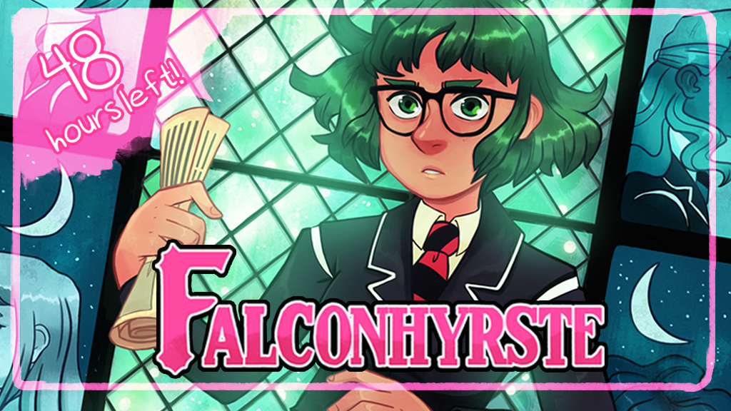 Falconhyrste: Issue #4: A Supernatural LGBT+ Comic project video thumbnail