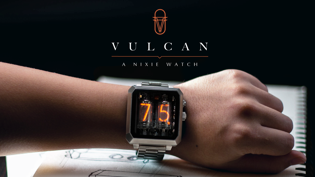 VULCAN: A Nixie watch project video thumbnail