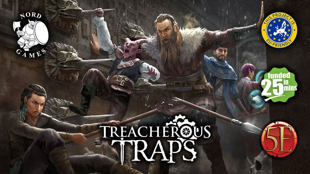 Treacherous Traps for 5th Edition! project video thumbnail
