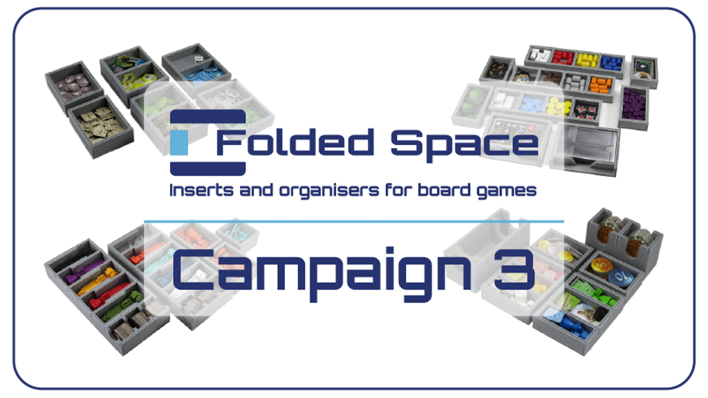 Folded Space - Board Game Inserts Campaign 3 is the top crowdfunding project launched today. Folded Space - Board Game Inserts Campaign 3 raised over $27639 from 907 backers. Other top projects include ADcase - coolest way to protect your iPhone, HERO Bags, Scheherazade...