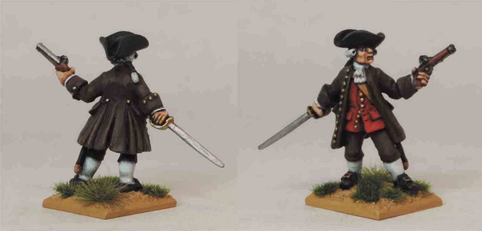 Militia Officer from pack FIW AAM3
