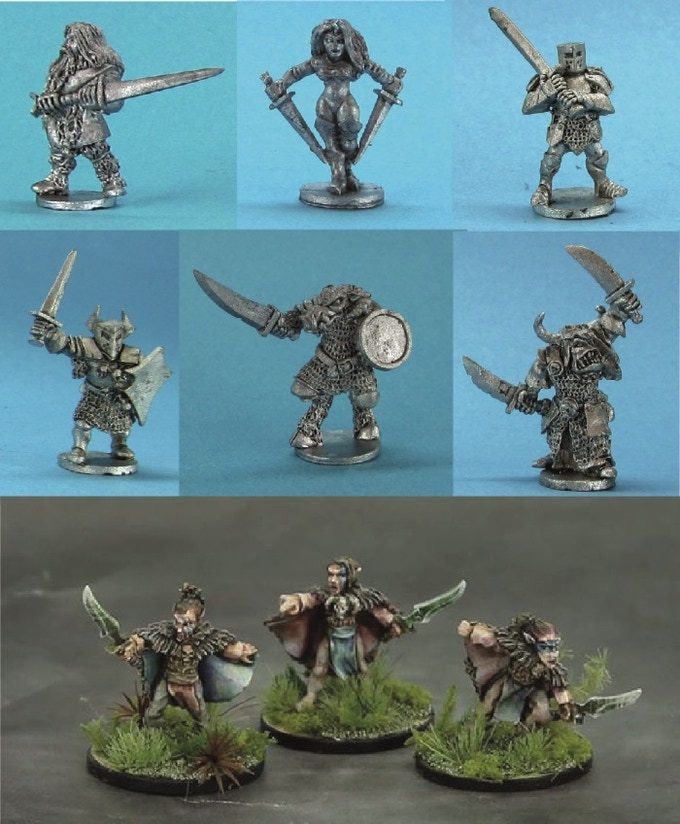 examples of Demonworld 15mm fantasy