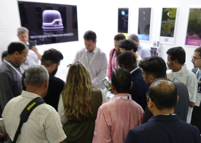 GITEX 2018 launch in Dubai, UAE, drew a great deal of interest from attendees.