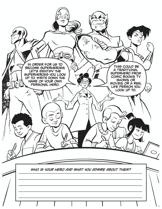 SuperKids! Mental Health Support Coloring Book by Pop ...