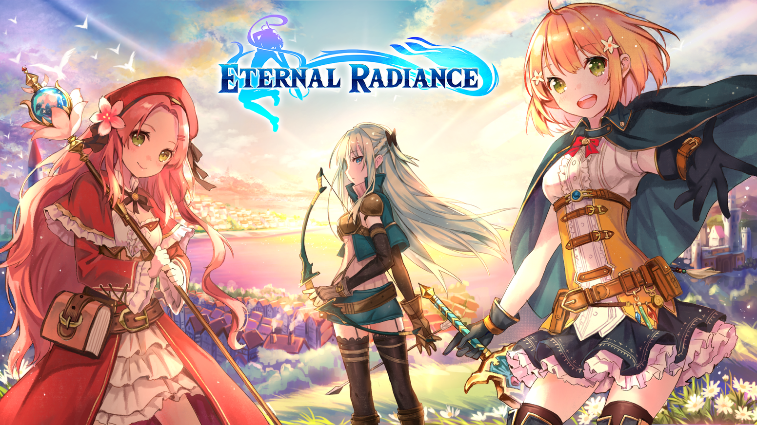 A character-driven action JRPG set in a world with a long-forgotten past.