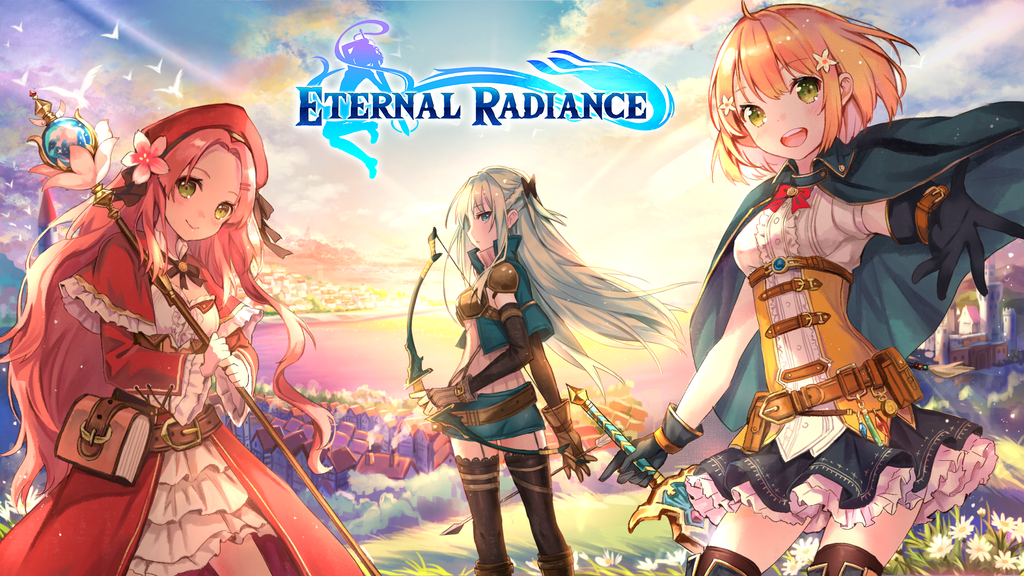 Eternal Radiance: Fantasy Action JRPG VN project video thumbnail