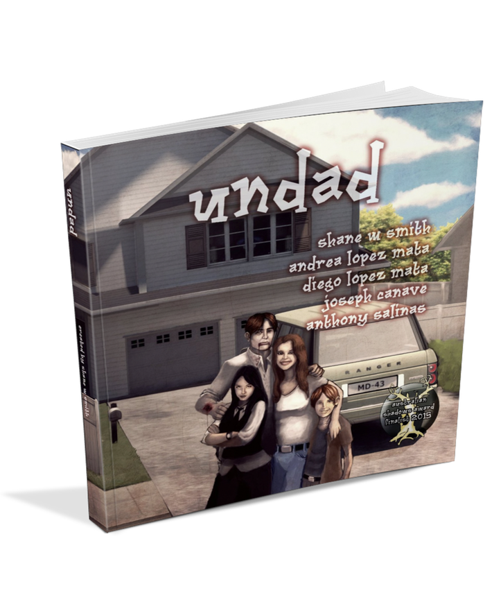 Undad was published in 2015 by Deeper Meanings Publishing, and was a finalist in the 2015 Australian Shadows Awards!