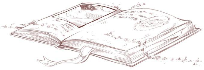 Ausschnitt aus einer Skizze für das Magie-Kapitel