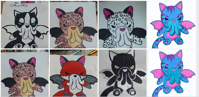 Many Creature Designs! For our Upcoming Plushies !