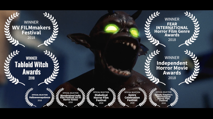 One thing stands between a man and a good night's sleep--monsters from another dimension. Help us produce this retro sci-fi movie!