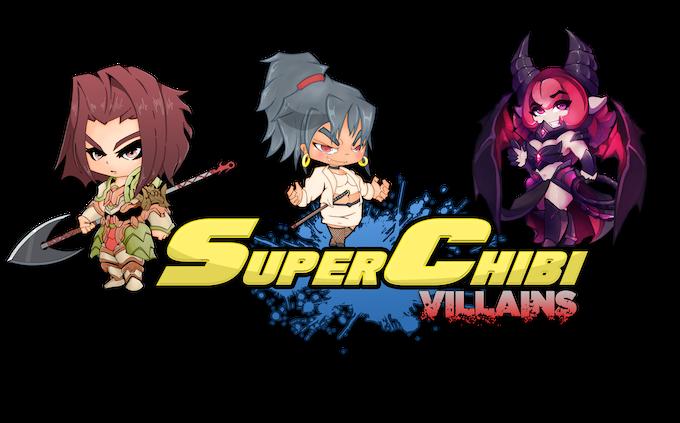 Super Chibi Villains Core Characters