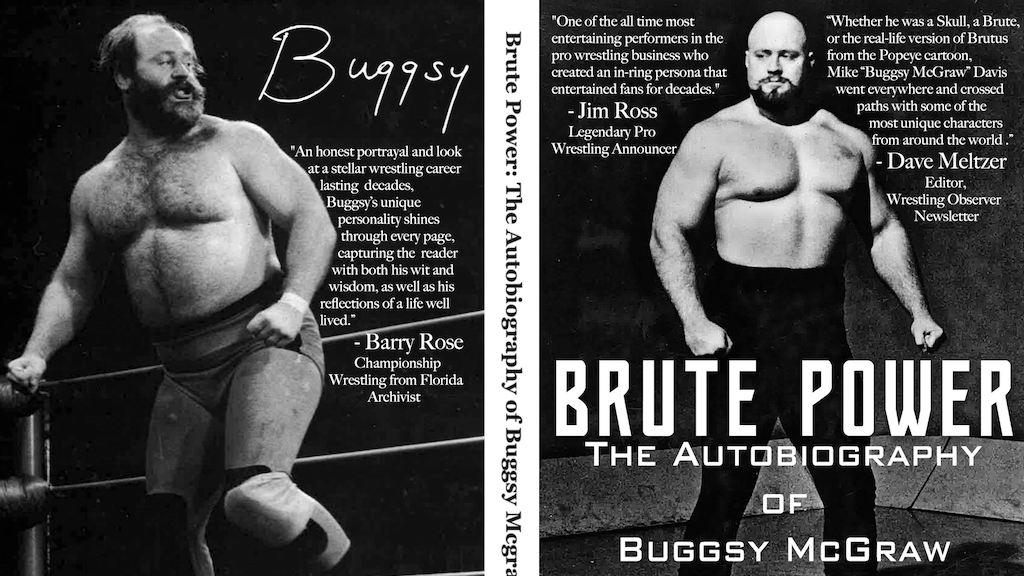 Brute Power: The Autobiography of Buggsy McGraw project video thumbnail