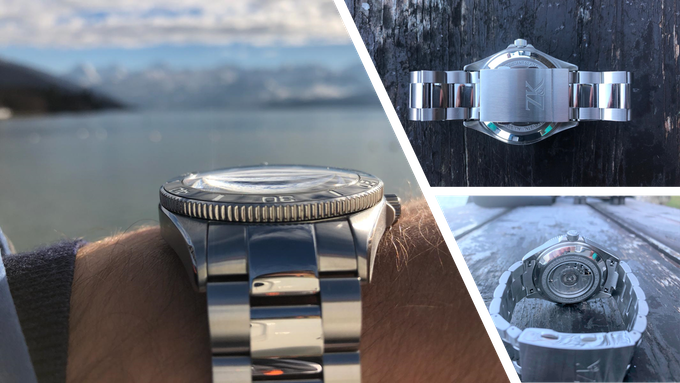 Stainless Steel Case, Adjustable Folding Clasp and Sapphire Case Back