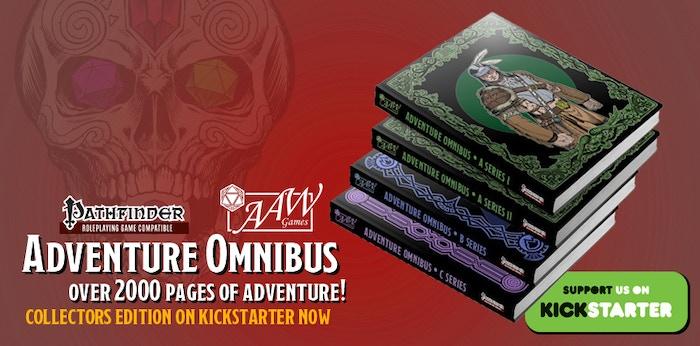 Final Hours of the Adventure Omnibus Kickstarter!