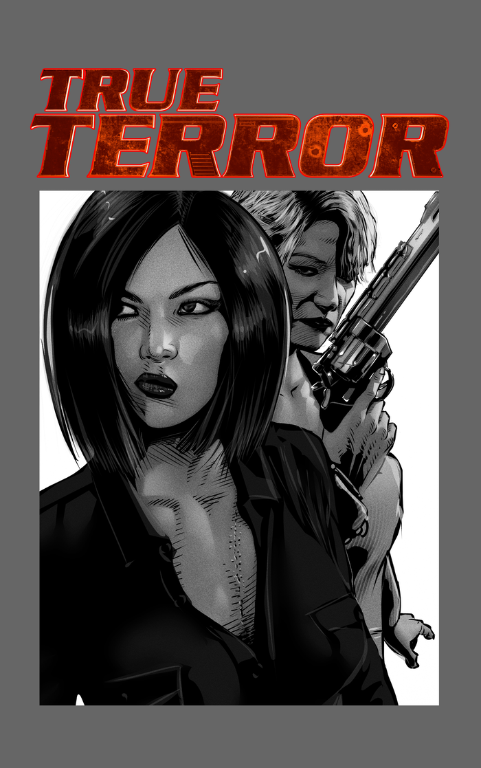 A buddy-action comic about two mismatched female detectives and their investigation into a terrorist attack and a dark conspiracy.