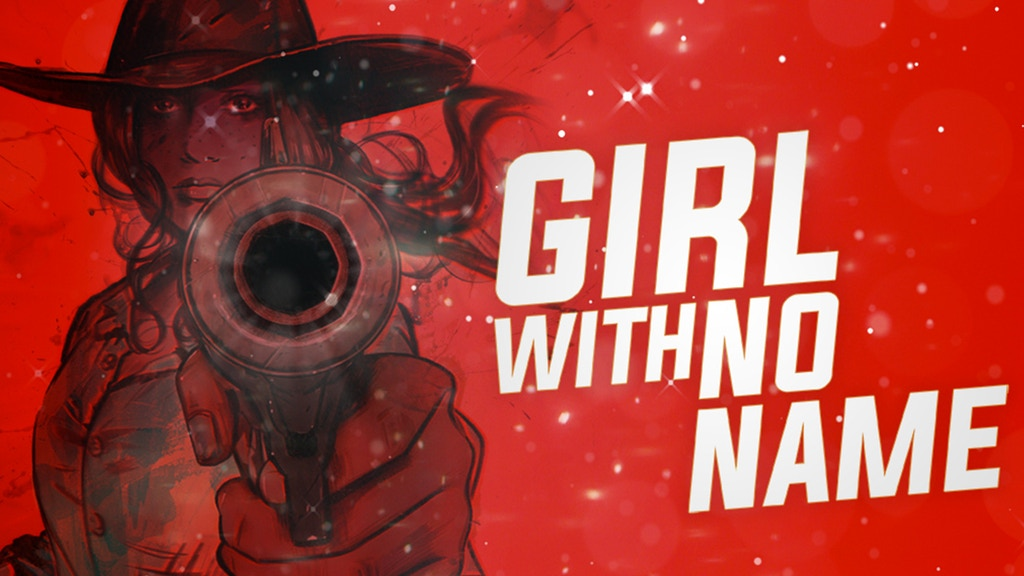 Girl With No Name - A1Shot, 40 Page Comic Book