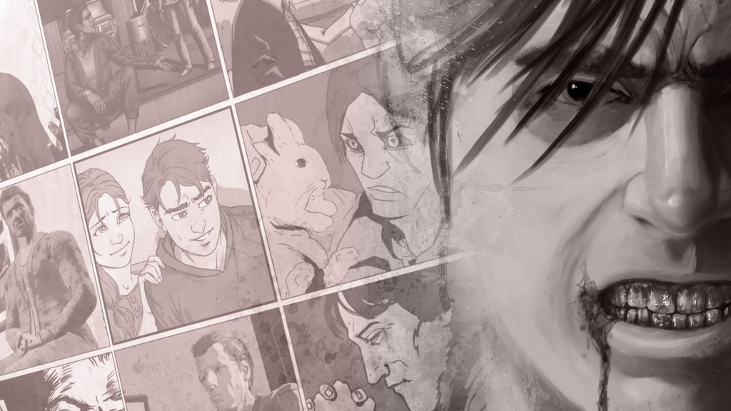 Undad graphic novel trilogy: a zombie-family-drama epic project video thumbnail