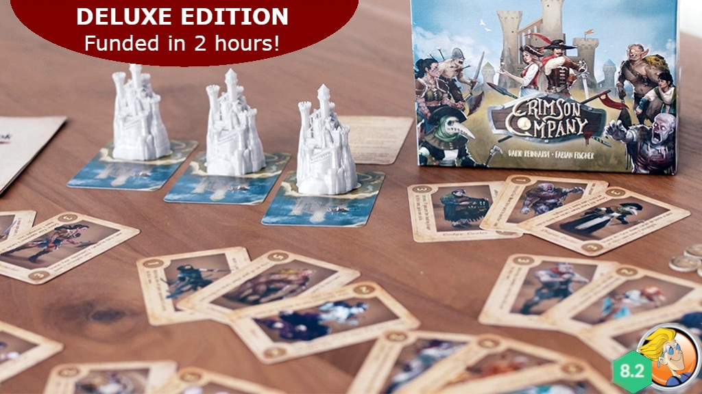 Crimson Company - Skill-based Card Game project video thumbnail