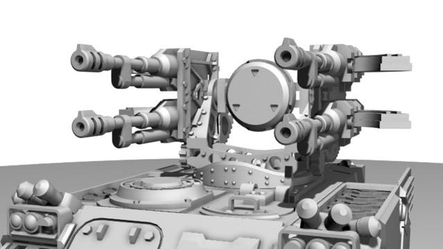 Quad AA Autocannons
