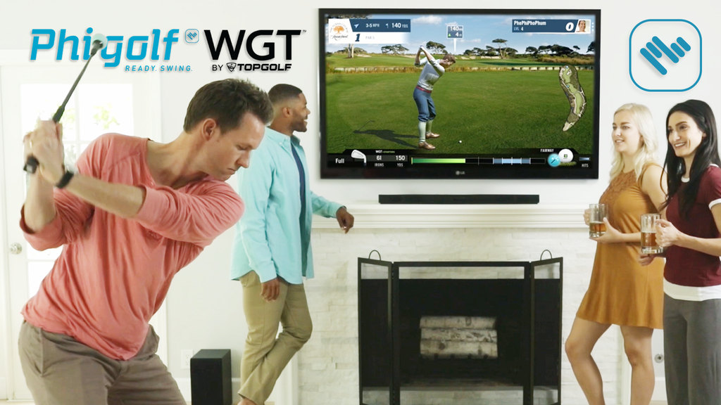 Phigolf WGT Edition: Golf Simulator for Your Living Room by