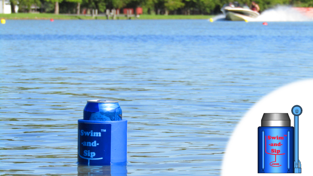 Swim and Sip - A Patented Foldable Floating Koozie project video thumbnail