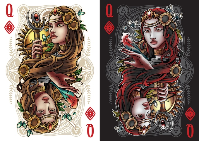 Queen Of Diamonds (Hemera)