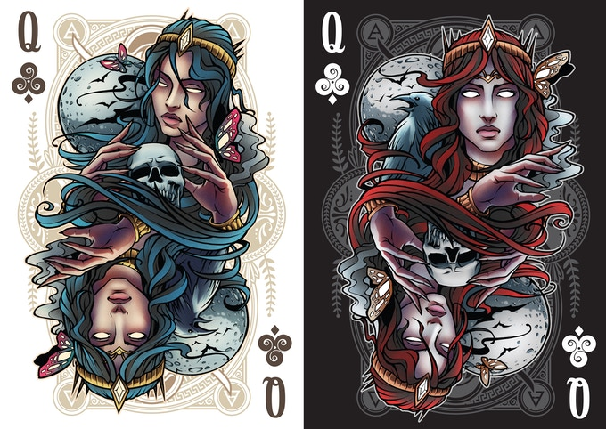 Queen Of Clubs (Nyx)