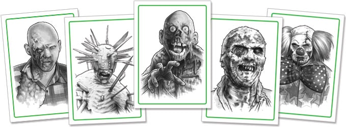 Click to view ALL of the ZOMBIE cards