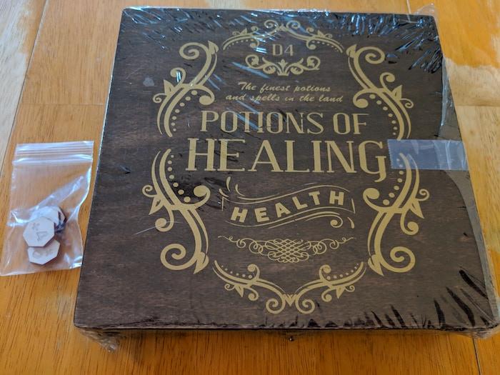 Dice Bottles - DnD 5e Healing Potion Kit by Jonathan Ross
