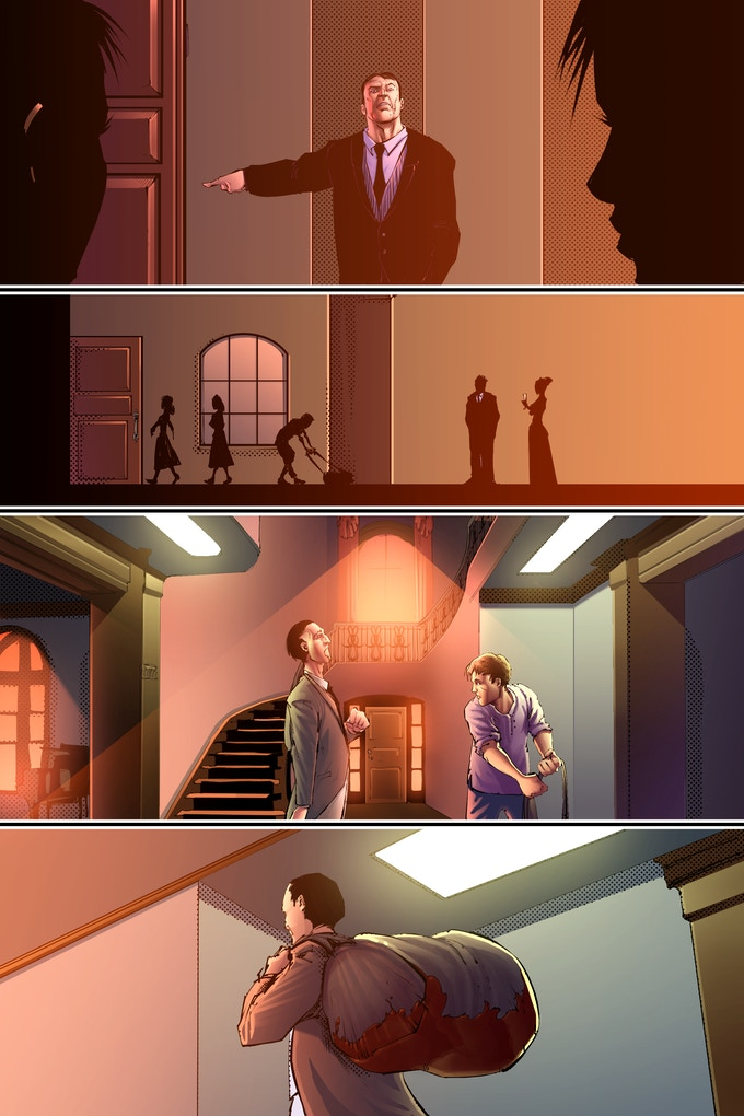 Page 2, colors by Robert Nugent