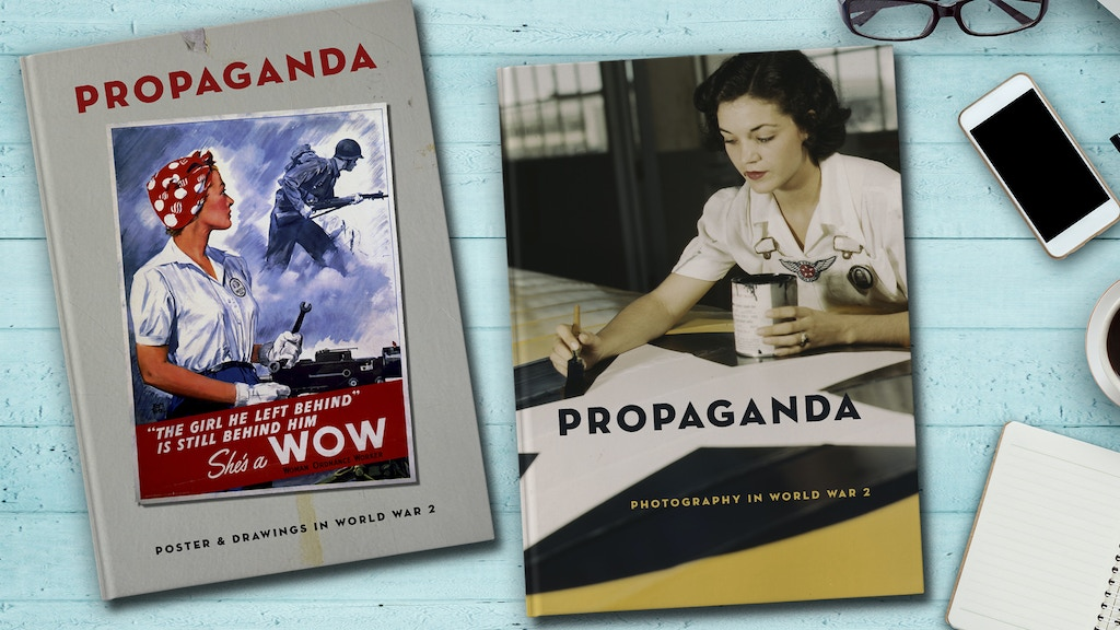 PROPAGANDA - Posters, Drawings & Photography in WW2