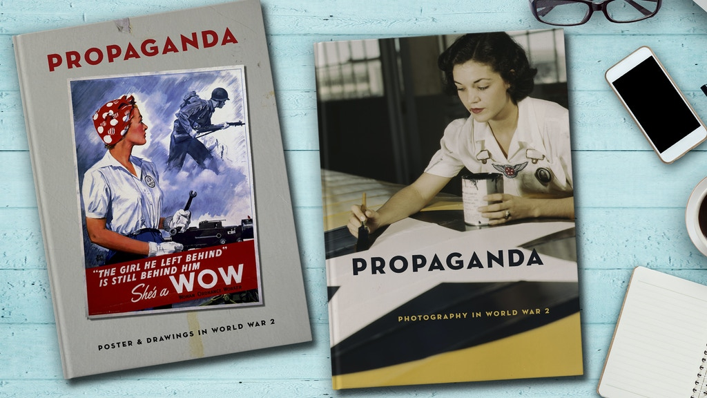 PROPAGANDA - Posters, Drawings & Photography in WW2