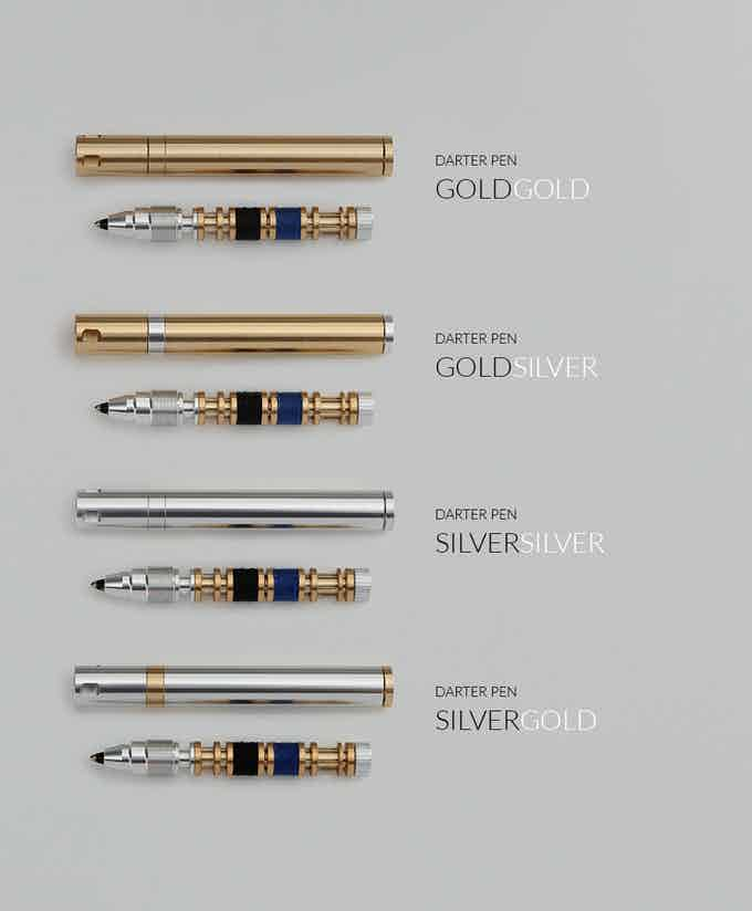 Each DARTER PEN includes 1x Bobbin 1x Refill 1x Button 1x DARTER SEW with 4x No.10 needles